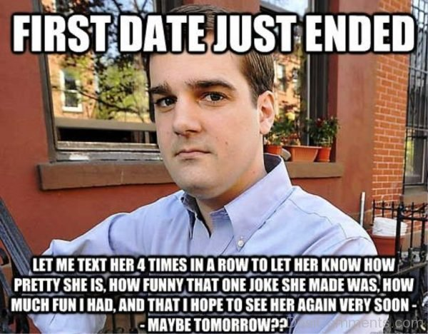 First Date Just Ended