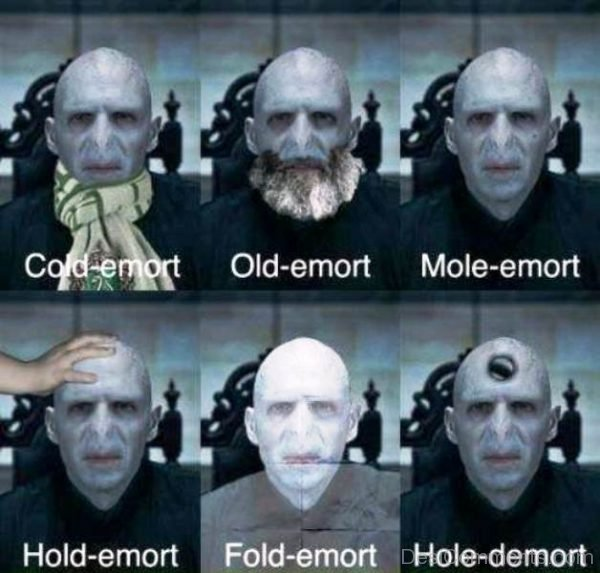 Funny Styles Of Voldemort