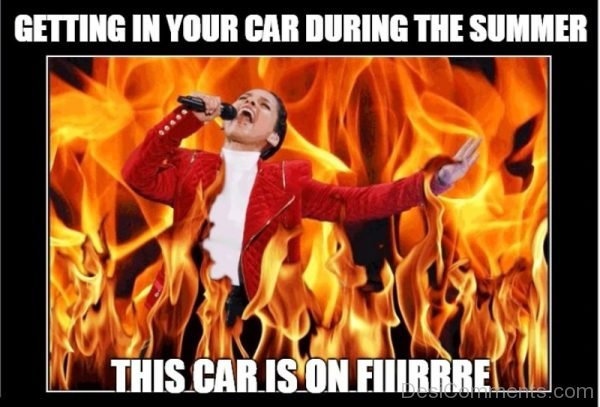 Getting In Your Car During The Summer