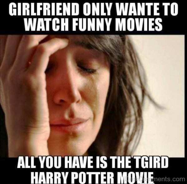 Girlfriend Only Want To Watch Funny Movies
