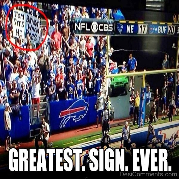 Greatest Sign Ever