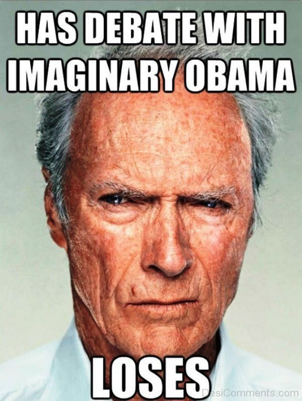 Has Debate With Imaginary Obama