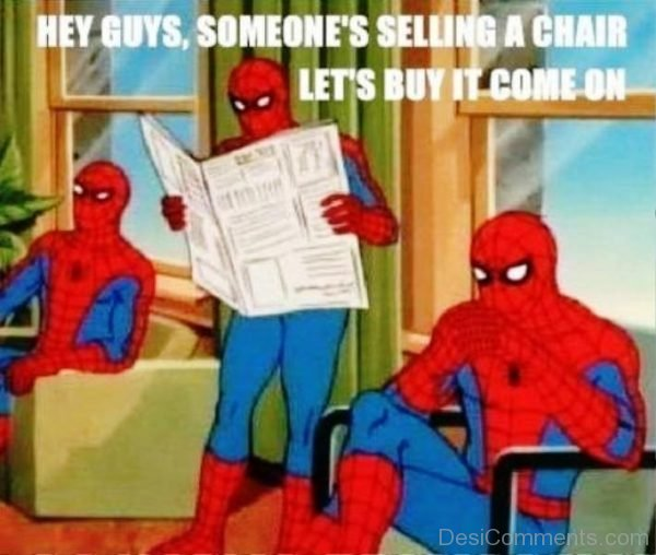 Hey Guys, Someones Selling A Chair