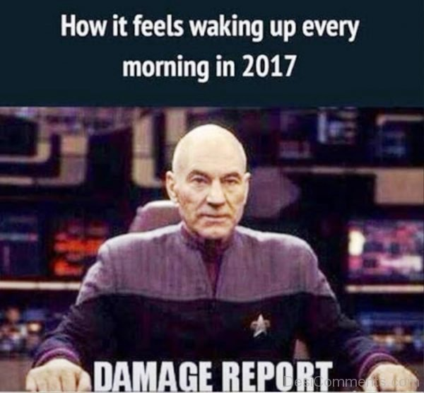 How It Feels Waking Up Every Morning