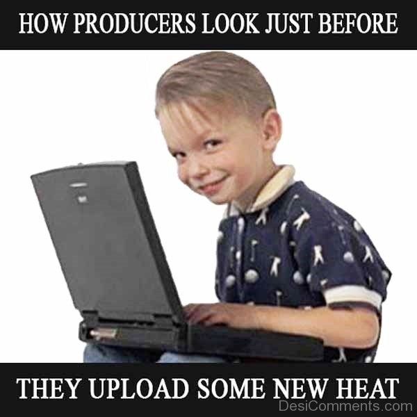 How Producers Look Just Before They Upload