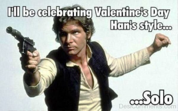 Ill Be Celebrating Valentines Day