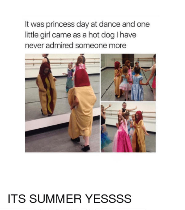 It Was Princess Day At Dance