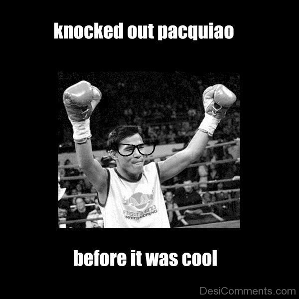 Knocked Out Pacquiao