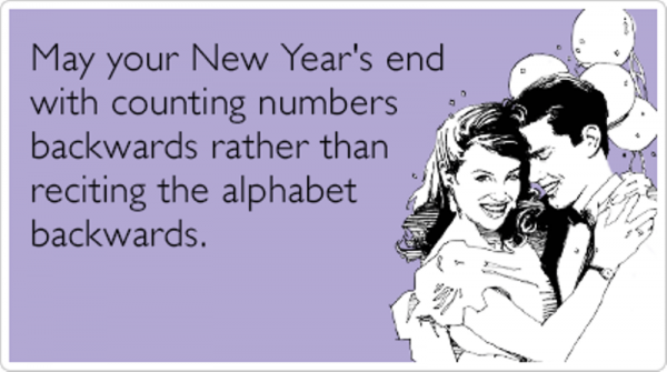 May Your New Years End