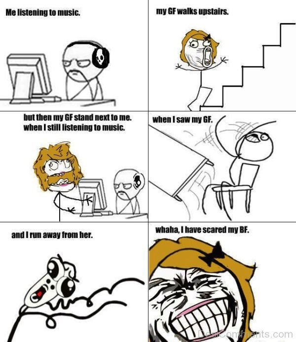 Me Listening To Music