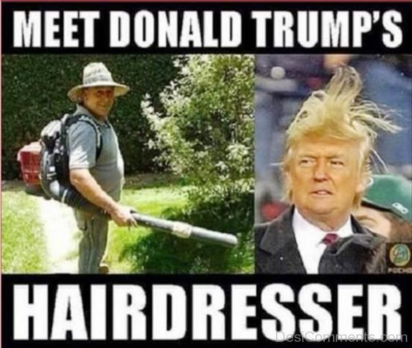 Meet Donald Trumps Hairdresser