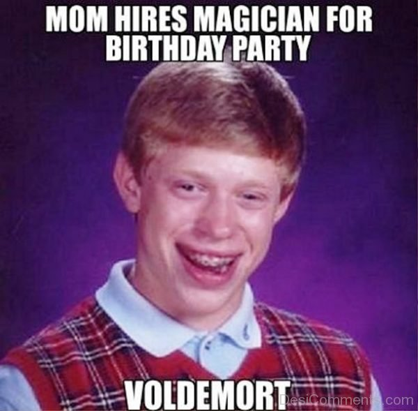 Mom Hires Magician For Birthday Party