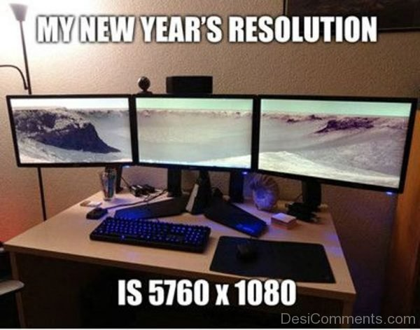 My New Years Resolution Is