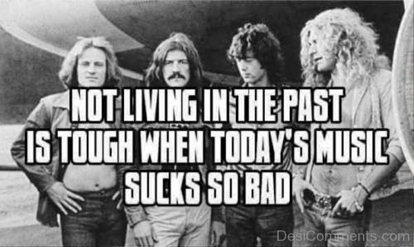 Not Living In The Past Is Tough