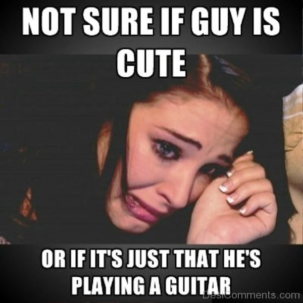 Not Sure If Guy Is Cute