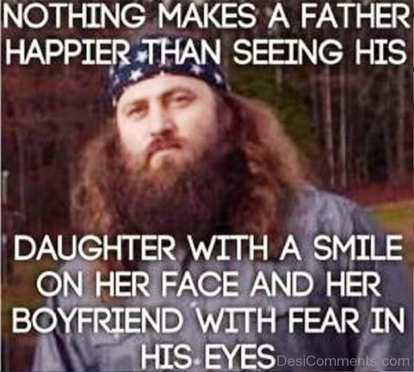 Nothing Makes A Father Happier Than Seeing