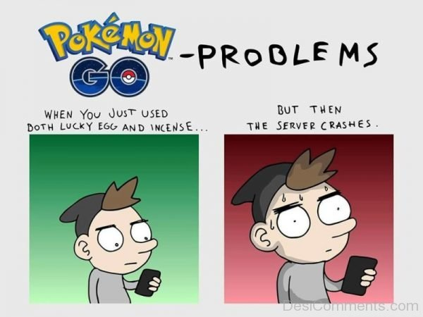 Pokemon Go Problems