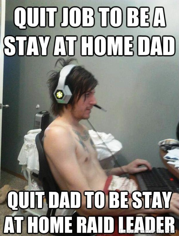 Quit Job To Be A Stay At Home Dad
