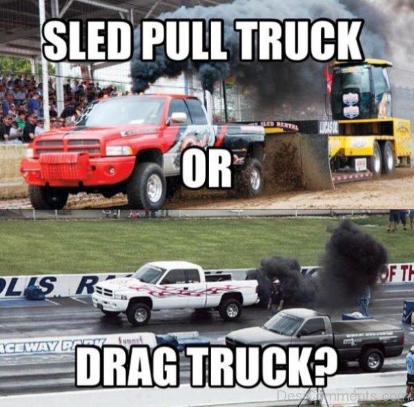 Sled Pull Truck
