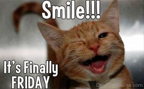 Smile Its Finally Friday
