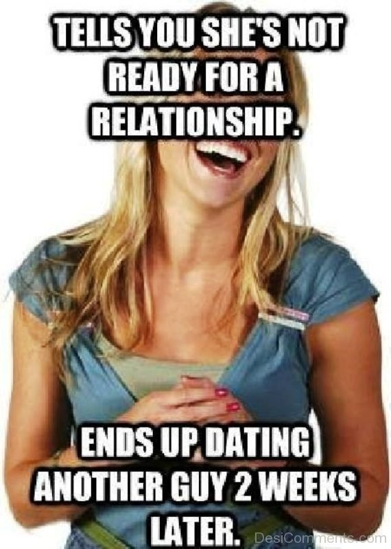 Tells You She s Not Ready For A Relationship