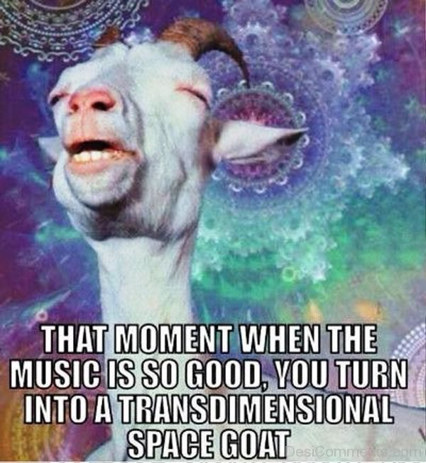 That Moment When The Music Is So Good