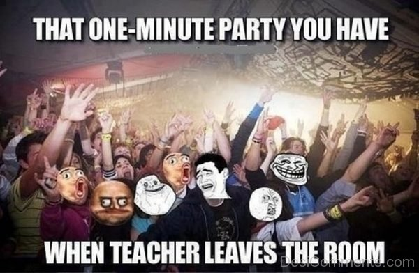 That One Minute Party You Have