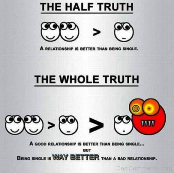 The Half Truth