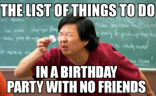 The List Of Things To Do