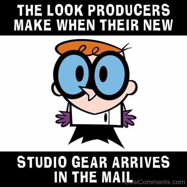 The Look Producers Make When Their New