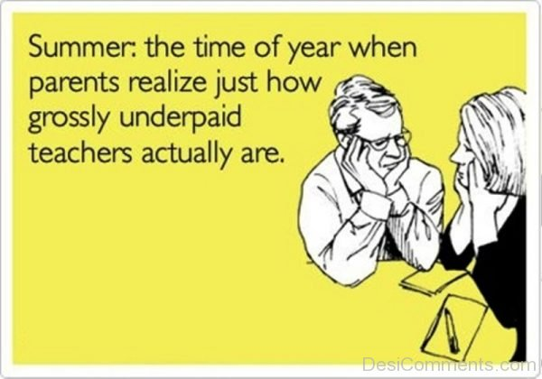 The Time Of Year When Parents Realize