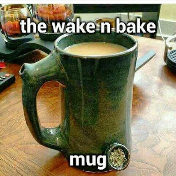 The Wake N Bake Mug