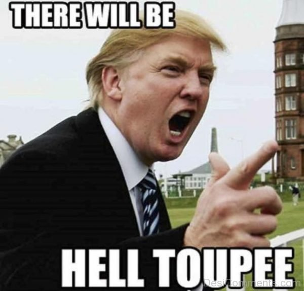 There Will Be Hell Toupee