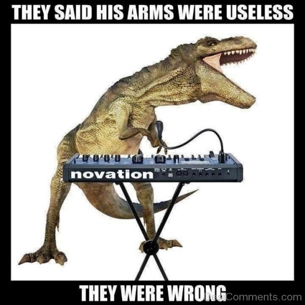 They Said His Arms Were Useless