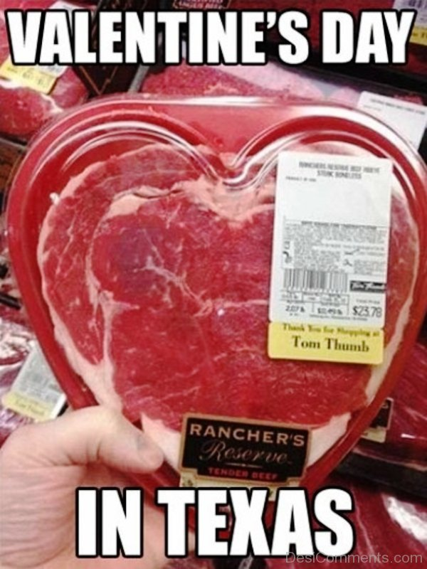 Valentines Day In Texas