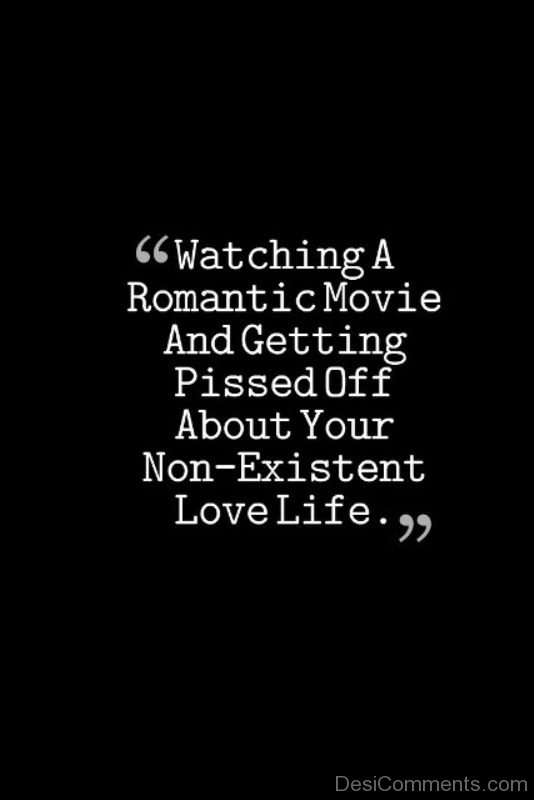 Watching A Romantic Movie