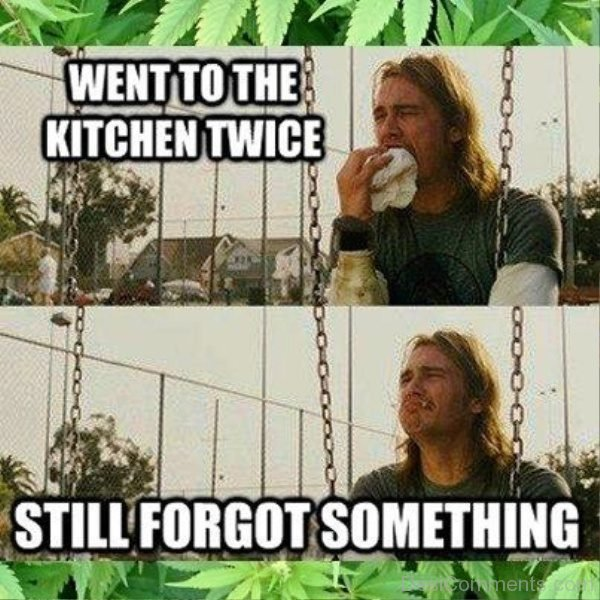 Went To The Kitchen Twice