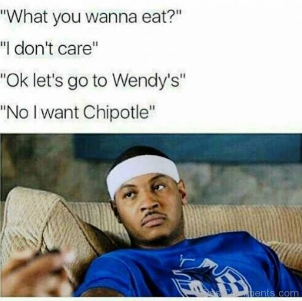 What You Wanna Eat