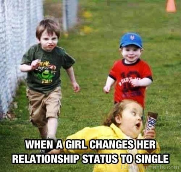 When A Girl Changes Her Relationship