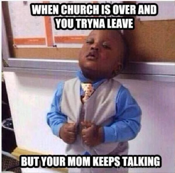 When Church Is Over
