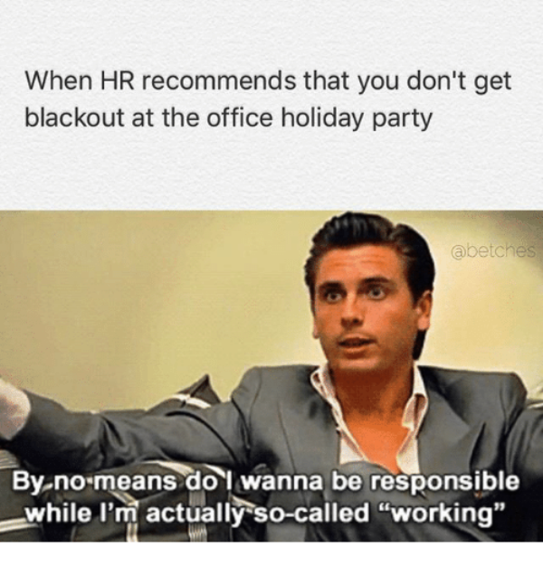 When HR Recommends That You