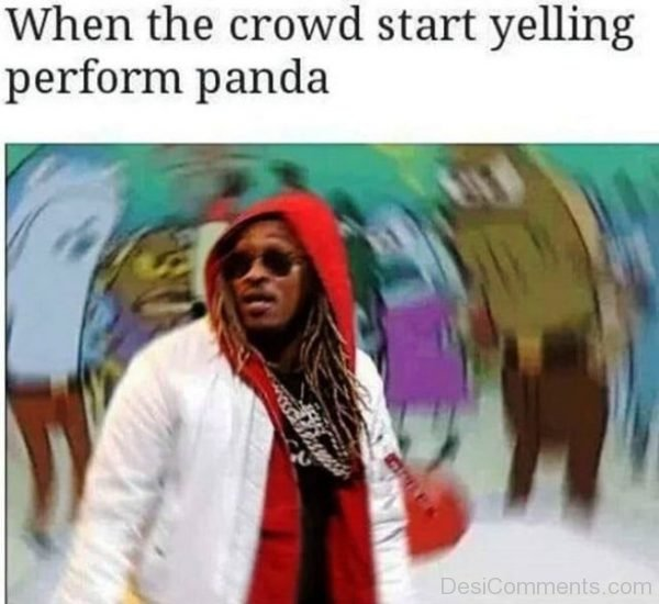 When The Crowd Star Yelling Perform Panda
