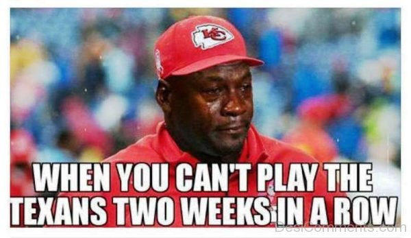When You Cant Play The Texans