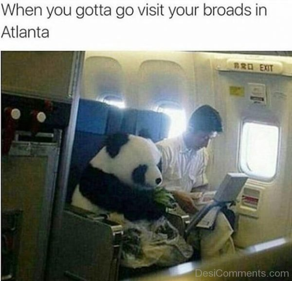 When You Gotta Go Visit Your Broads