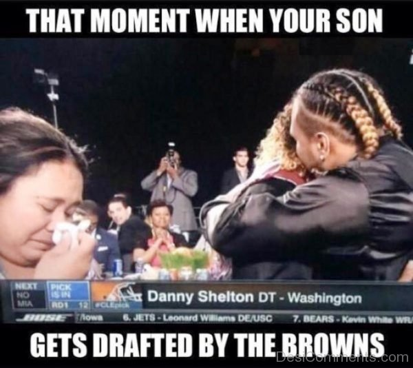 When Your Son Gets Drafted