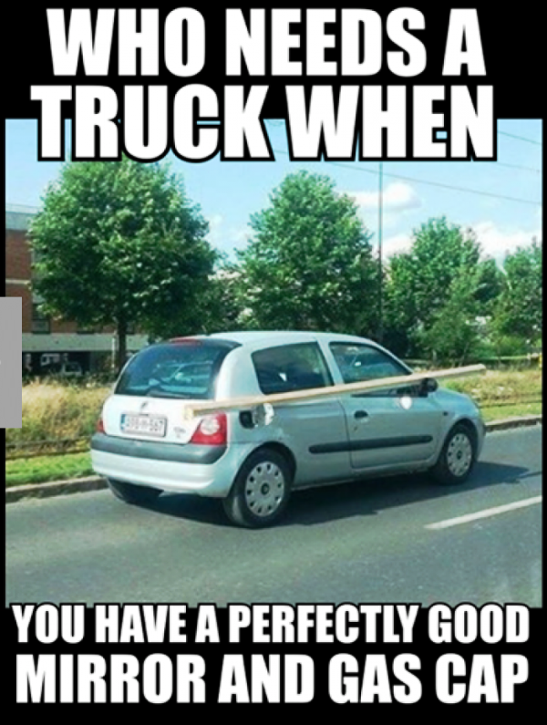 Who Needs A Truck