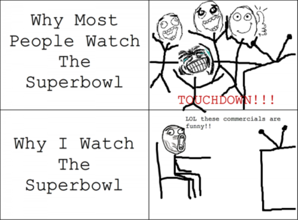 Why Most People Watch The Superbowl