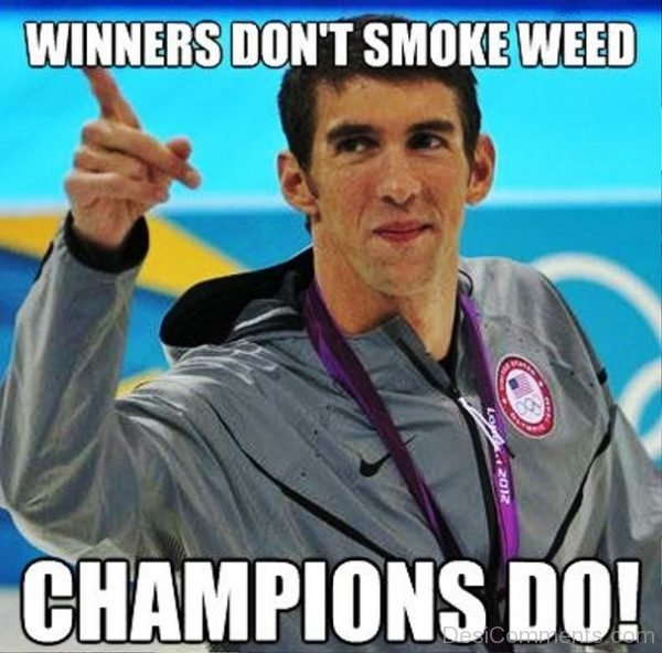 Winners Dont Smoke Weed