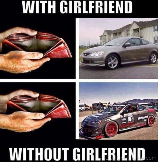 With Girlfriend Vs Without Girlfriend