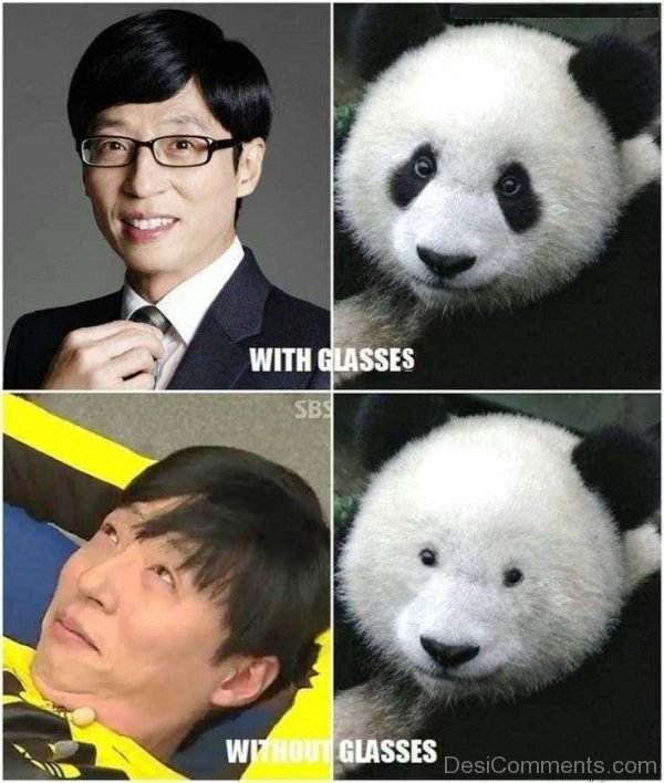 With Glasse Or Without Glasses